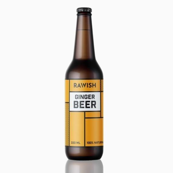 limonad rawish ginger beer 330 ml