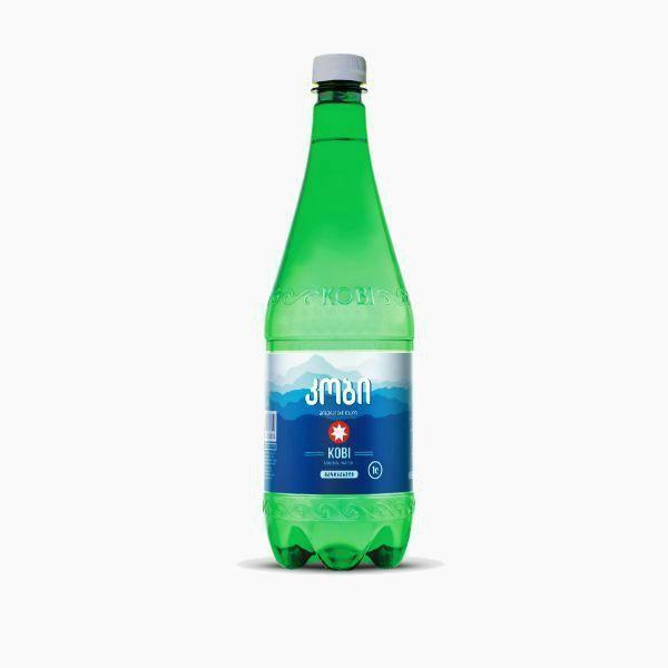 mineralnaja voda kobi gazirovannaja 1 0 l pjet