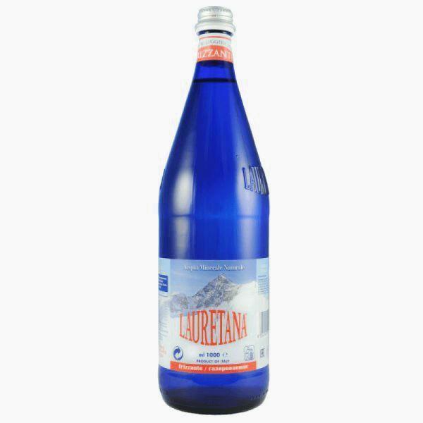 mineralnaya voda lauretana gazirovannaya 1 l