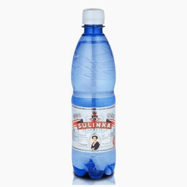 mineralnaya voda sulinka kremnievaya gazirovannaya 0 5l