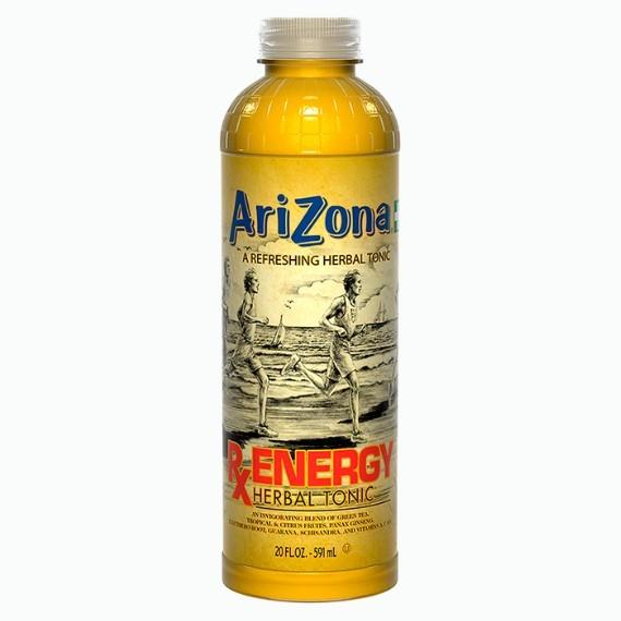 napitok arizona rx energy herbal tonic 0 591 l