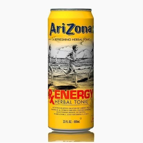 napitok arizona rx energy herbal tonic 0 68 l