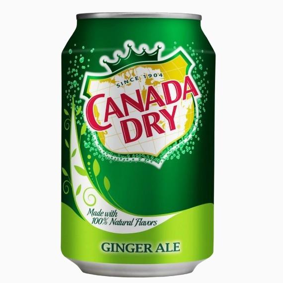 napitok canada dry ginger ale 0 355 l