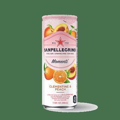 napitok s pellegrino momenti mandarin persik 0 33 l