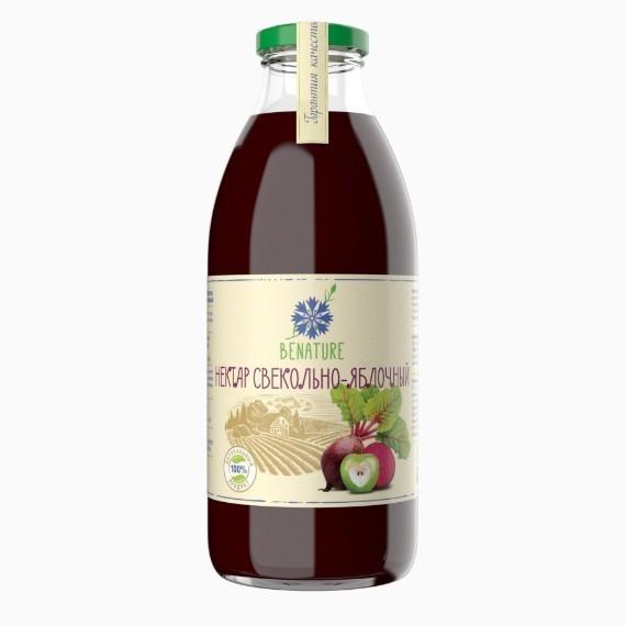 nektar benature svekolno jablochnyj 0 73 l