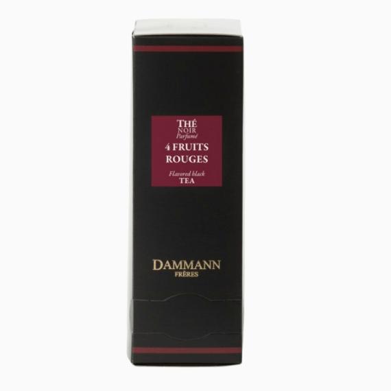 paketirovannyj chaj dammann quatre fruits rouges 2 g h 24 p