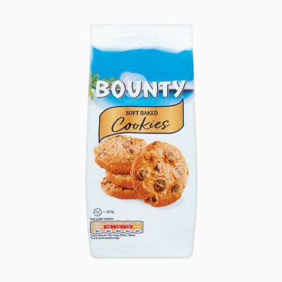 pechene bounty soft baked cookies 180 g
