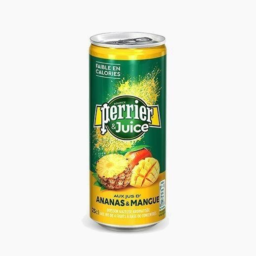 perrier ananas mango voda gazirovannaja 0 25 l