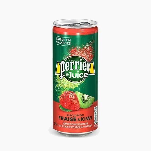 perrier fraise kiwi voda gazirovannaja 0 25 l