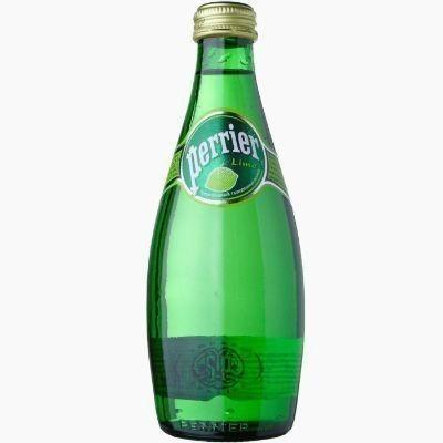 perrier lime voda gazirovannaja 0 33 l steklo