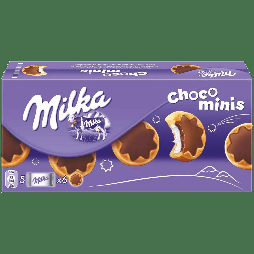 pirozhnye milka choco minis 150 g