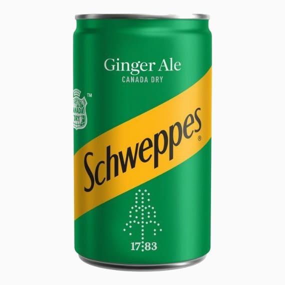 schweppes ginger ale 150ml