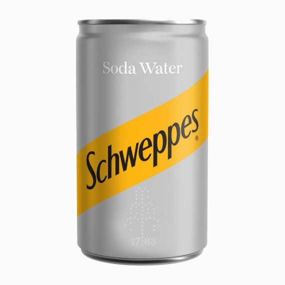 schweppes soda water 150ml