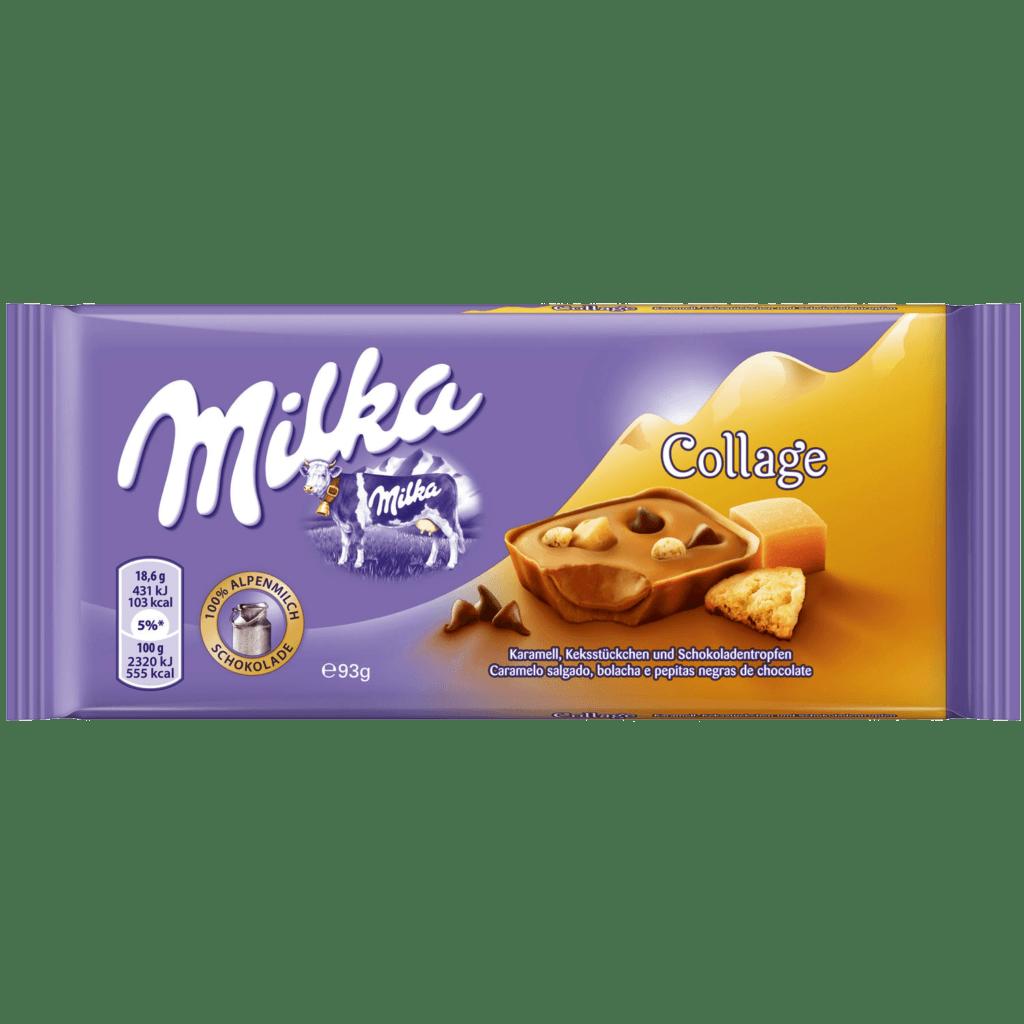 shokolad milka collage fudge chocolate 93 g