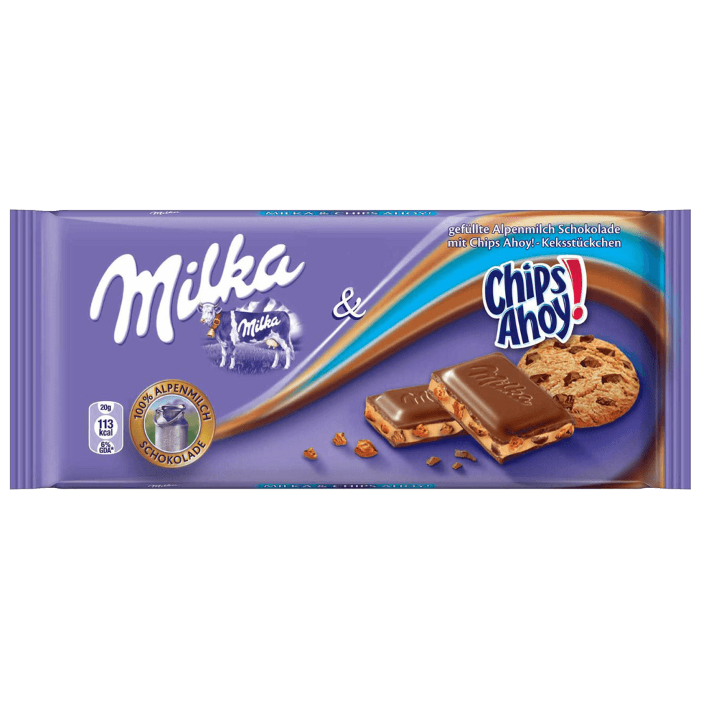 shokoladnoe pechene milka chips ahoy 100 g