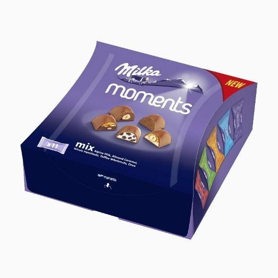 shokoladnye konfety milka moments mix 169 g