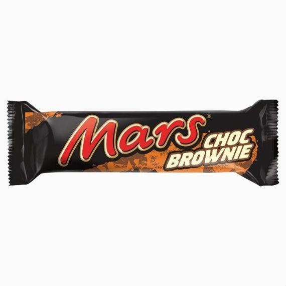 shokoladnyj batonchik mars choc brownie 51 g