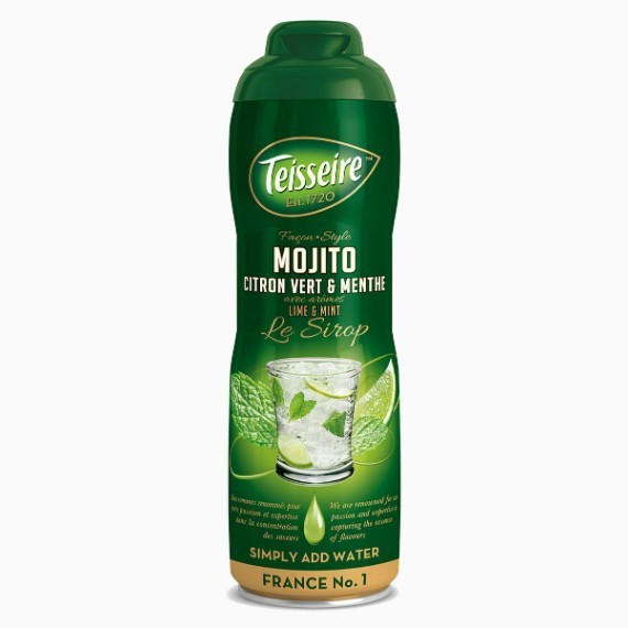 sirop teisseire mohito 0 6 l