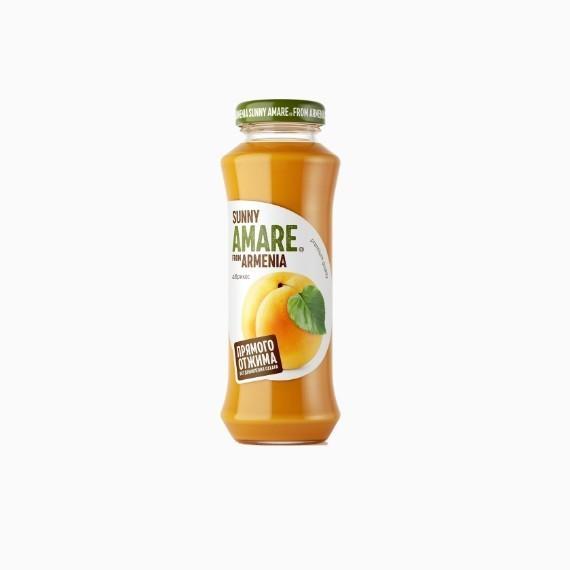 sok sunny amare abrikos 0 25 l