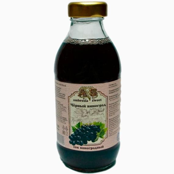 sok vinogradnyj ambrosia sweet 0 3 l