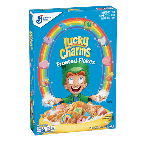 suhoj zavtrak lucky charms frosted flakes s marshmelou 391 g