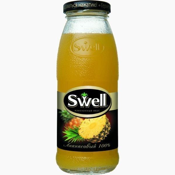 swell sok ananasovyj 0 25 l