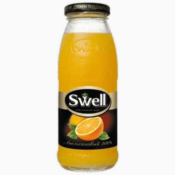 swell sok apelsinovyj 0 25 l