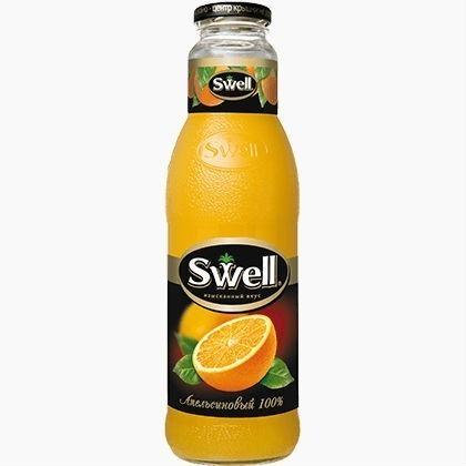 swell sok apelsinovyj 0 75 l
