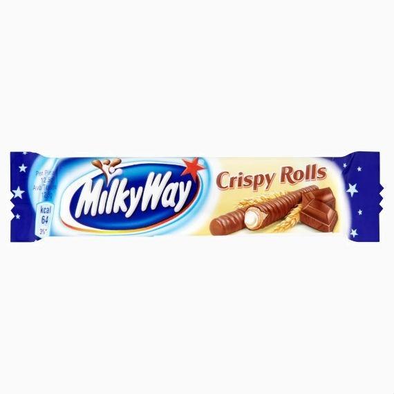 vafelnye trubochki milky way crispy rolls 25 g