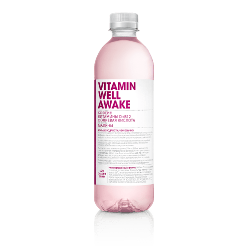 vitaminizirovannyj napitok vitamin well awake 0 5 l