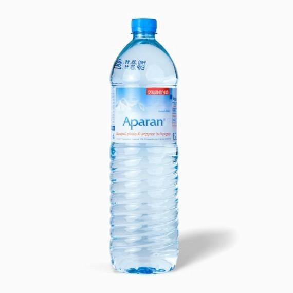 voda aparan negazirovannaja 1 5 l