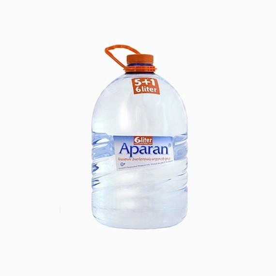 voda aparan negazirovannaja 6 0 l