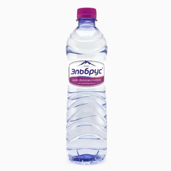 voda elbrus negazirovannaya 0 5 l