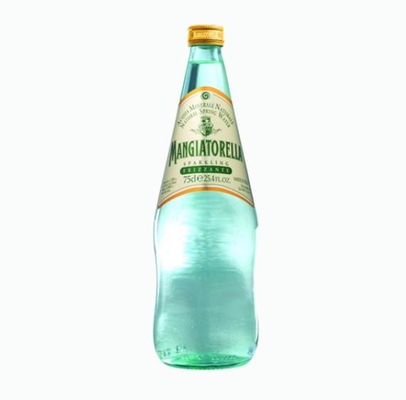 voda mangiatorella mineralnaya gazirovannaya 0 75 l