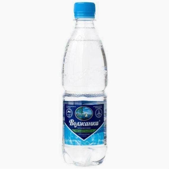 volzhanka mineralnaya voda bez gaza 0 5 l