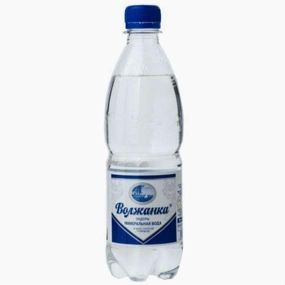 volzhanka mineralnaya voda gazirovannaya 0 5 l