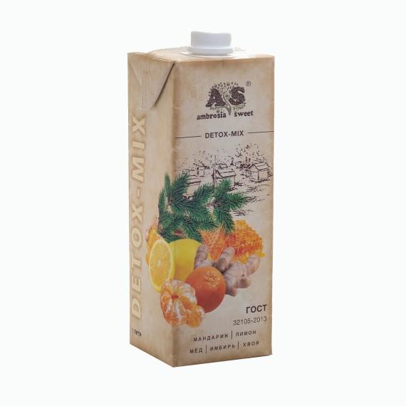 detoks sok ambrosia sweet mandarin limon myod imbir hvoya 1.0 l