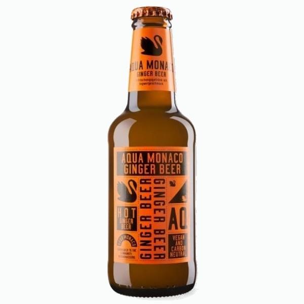 gazirovannyj napitok aqua monaco ginger beer 0.230 ml 1