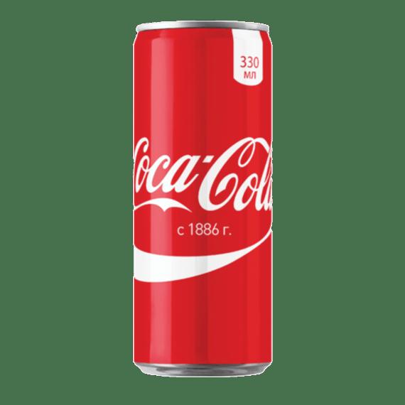 gazirovannyj napitok coca cola 0.33 l