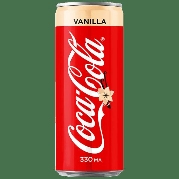gazirovannyj napitok coca cola vanilla 0.33 l rossiya