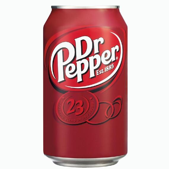 gazirovannyj napitok dr pepper 0.33 l 2