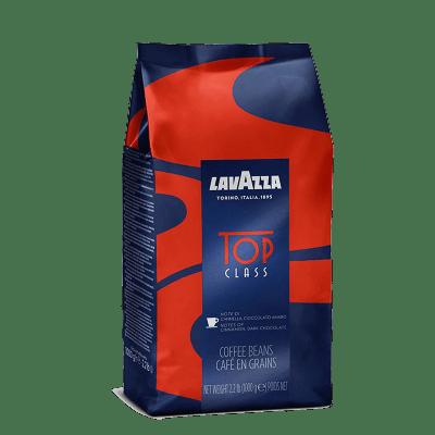 kofe zernovoj lavazza top class 1.0 g.