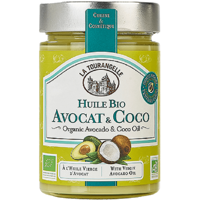 la tourangelle organic avocado coco oil 314 ml.