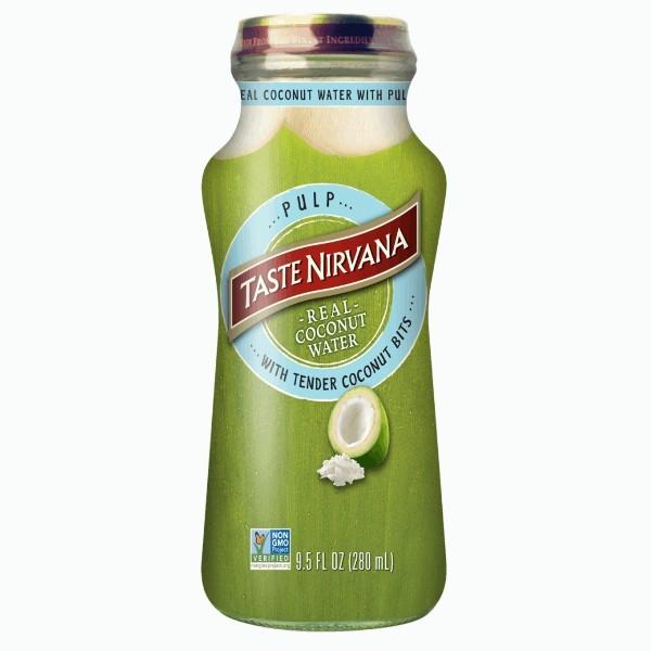 taste nirvana kokosovaya voda s myakotyu 0.28 l