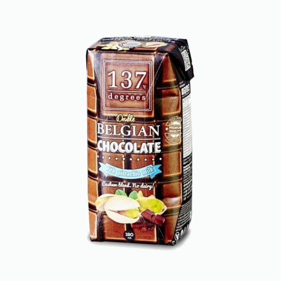 137 degrees fistashkovoe moloko s belgijskim shokoladom 180 ml