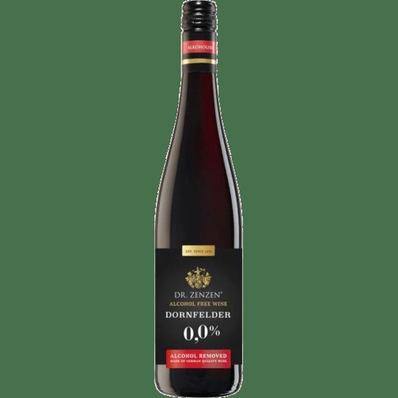 dr. zenzen deutcher dornfelder bezalkogolnoe krasnoe vino 0.75 l.