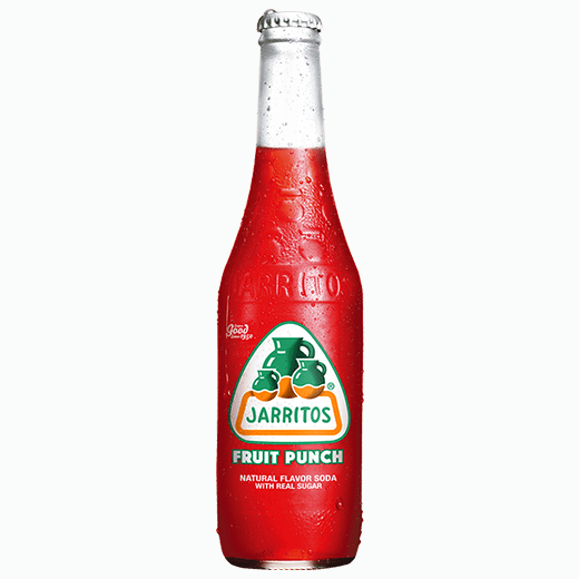 gazirovannyj napitok jarritos fruit punch fruktovyj punsh 370 ml
