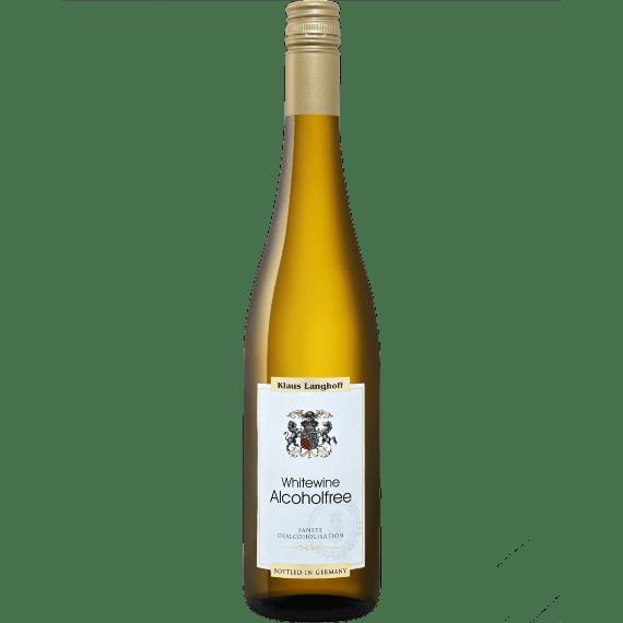 klaus langhoff weisswein bezalkogolnoe beloe vino 0.75 l.