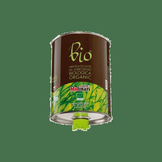 kofe zernovoj molinari bio organic 3.0 kg.