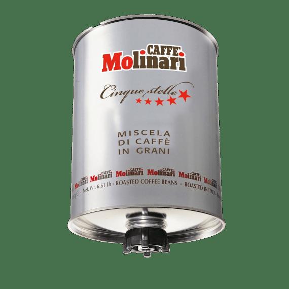 kofe zernovoj molinari cinque stelle 3.0 kg. 1